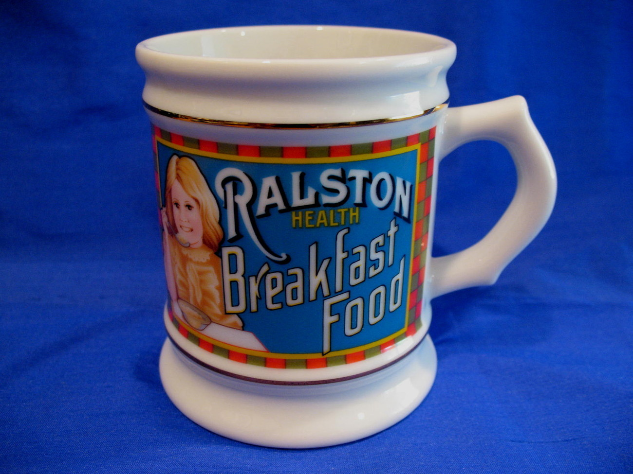 Ralston Purina Cereals Coffee Mug Tea Cup Souvenir Collectible Advertising