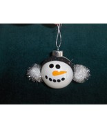 Snowman Christmas Ornament Shatterproof - $5.50