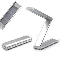 Aluminum Alloy Folding 18 LED Light Desk Light Lamp Rechargable Reading ... - $14.00