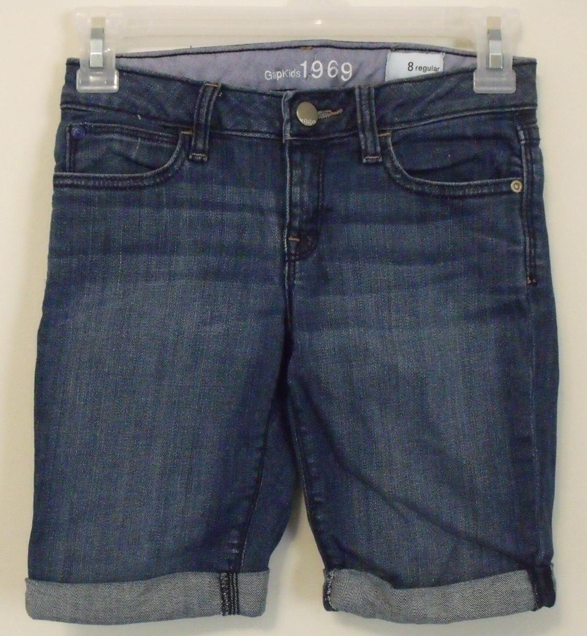 Girls gapkids jean shorts size 8