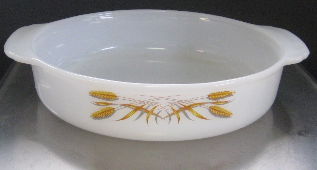 Fire King Cake Pan Vintage