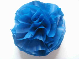 Car Limousine Wedding Decoration Pom Flower Deco-Puff - Royal Blue - $6.92