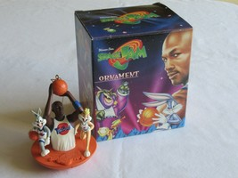 Warner Bros WB Space Jam Ornament Michael Jordan Lola Bugs Bunny 1996 Ba... - $24.99