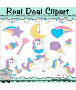 Magical Unicorns Clip Art - $1.25