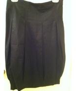ZARA Basic black pleated small zip SKIRT Made in Spain NEW! - $39.99