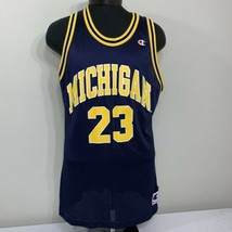 VTG Champion Jersey Michigan Wolverines #23 NCAA 90s College Fab 5 Men's 48 - $79.99