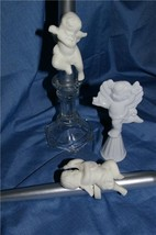 PartyLite Cherub Candle Followers & Snuffer Party Lite - $16.99