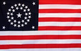USA 100% Silk Screen American Flag 3'x 5' 34 Star Banner  - $10.88