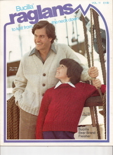 Raglans to Knit from the Neck Down Men Women and Children Volume 11