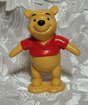 "Winnie The Pooh Bear 3"" PVC Birthday Cake Topper Action Figure Disney Store image 6"