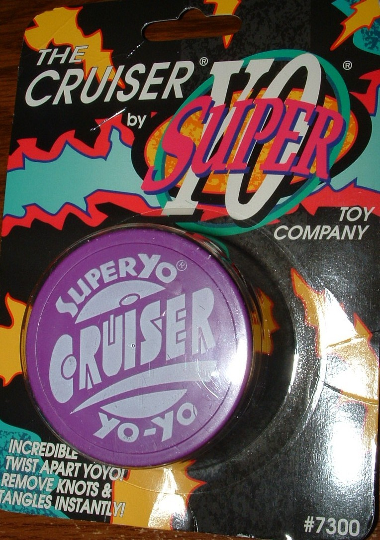 THE CRUISER BY SUPER YO TOY COMPANY / NEW IN PACKAGE