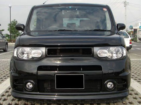 Front Hood Bumper Custom Mesh Grill Grille Fits JDM Nissan Cube 09-14 2009-2014