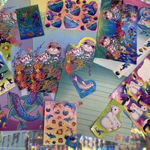 90s Lisa Frank Stickers Stationery Lot Dolphins Max Whale Penguins Roary Seal image 10