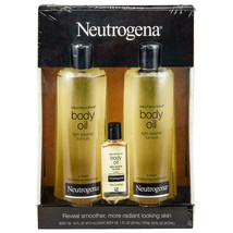 Neutrogena Body Oil Moisturizer (16 fl. oz., 2 pk. + 1.0 fl. oz., 1 pk.) - $39.55