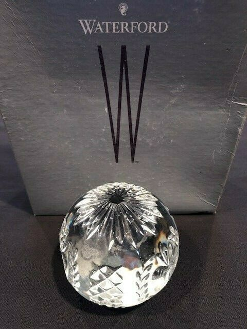 Waterford Apple Paperweight - $48.51
