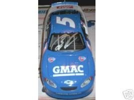 2003 BRIAN VICKERS #5 GMAC 1:24 DIECAST CAR AUTOGRAPHED - $110.00
