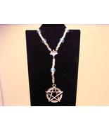 Moonstone Prayer Beads Pentacle Rosary - $23.10