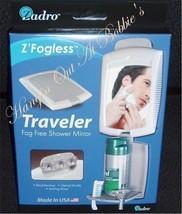 Zadro Z'fogless Traveler Fog-Free Fogless Shower Mirror ZT01 - $13.99