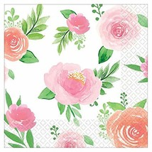 Baby Shower 'Sweet Floral' Small Napkins (16ct) - $11.61