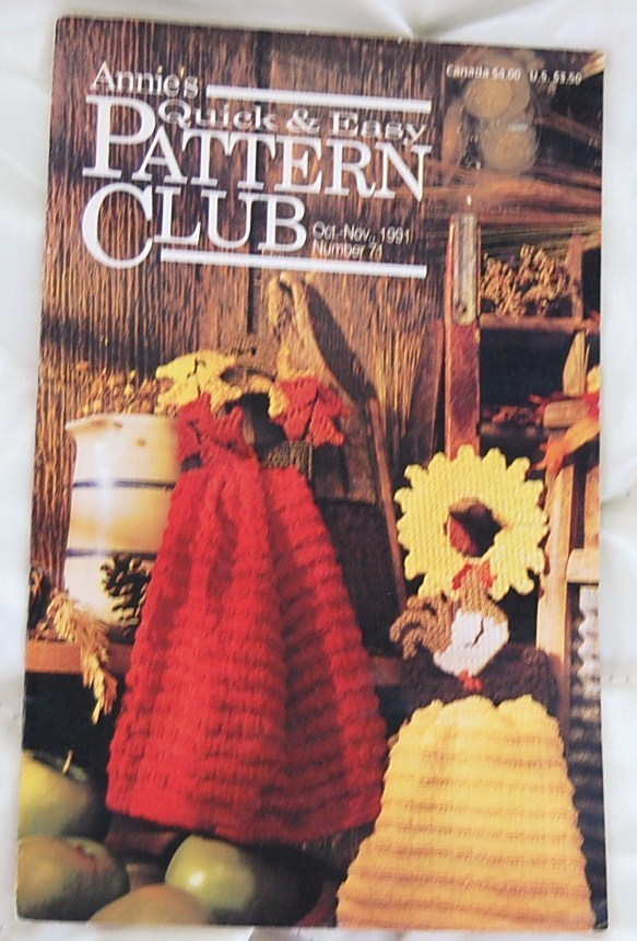 Annie' Pattern Club Oct. - Nov. 1991 No. 71