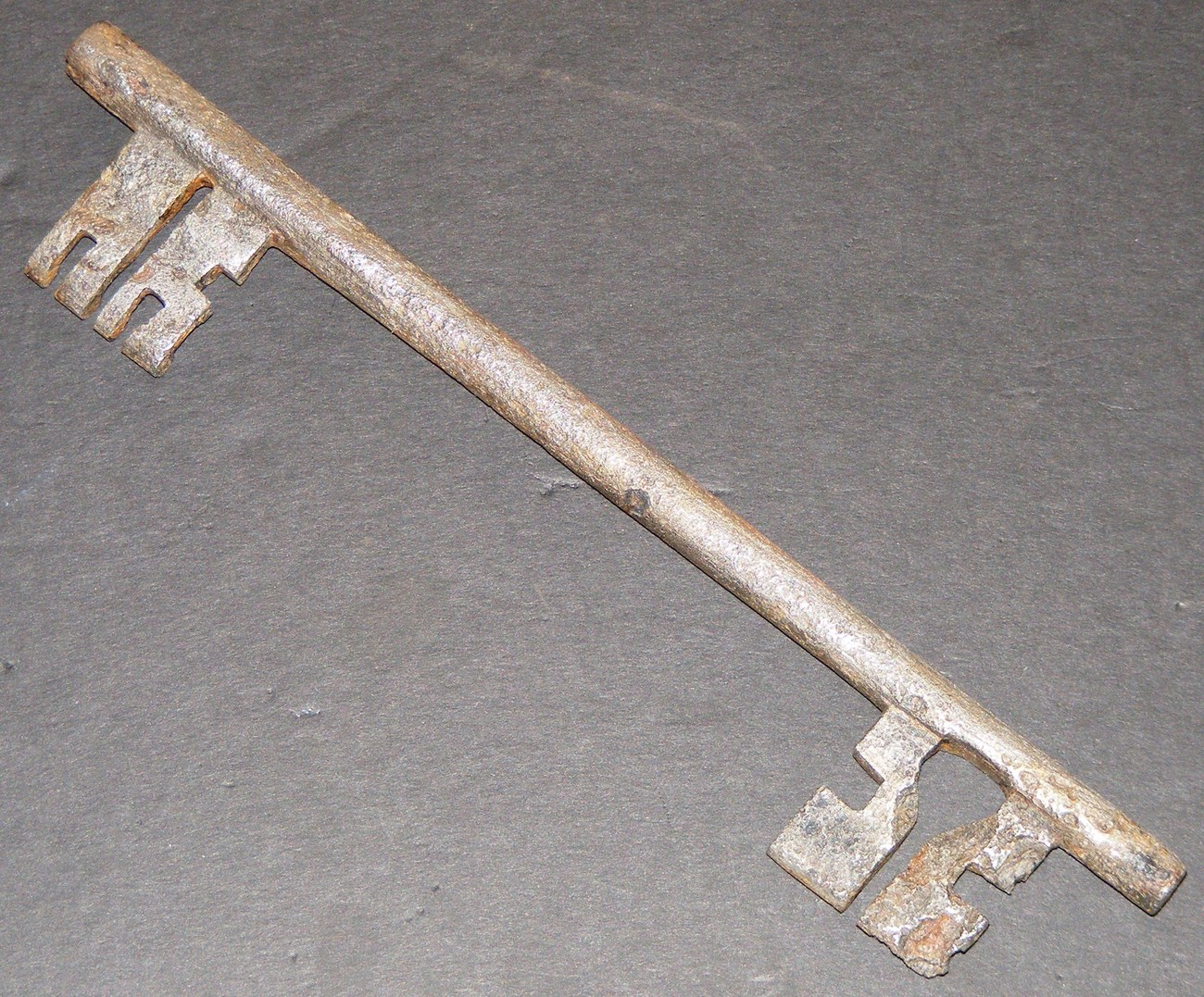 Rare 1700's French Double Bit Skeleton Key
