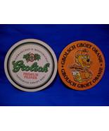 Grolsch Groet Oranje Holland Dutch Beer Coaster Souvenir set - $4.99