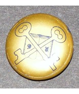 Skeleton Key Club R6 Fraternal Pin - $20.00