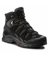 Salomon Quest prime GTX Leather Mens Black Waterproof Trail Hiking Boots... - £154.34 GBP