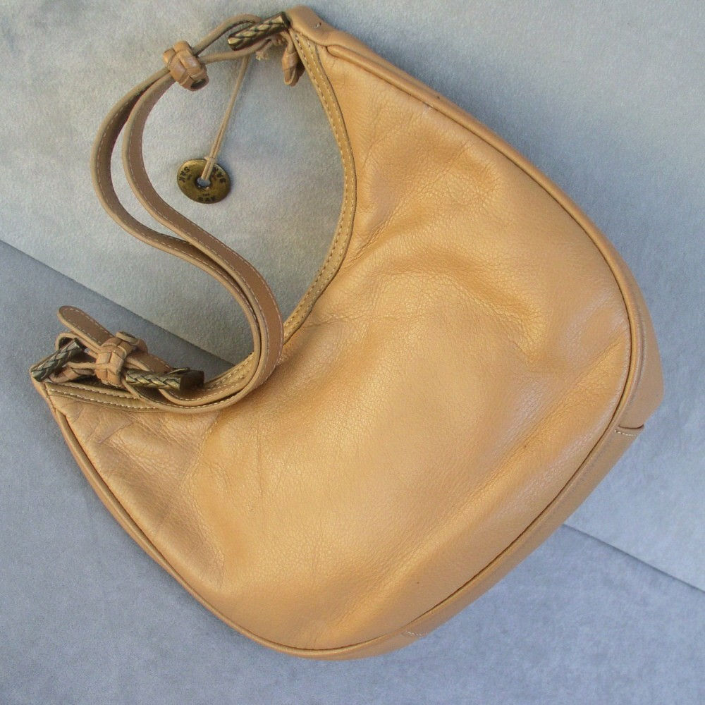 Handbag by The Sak in Butterscotch Brown Hobo Style
