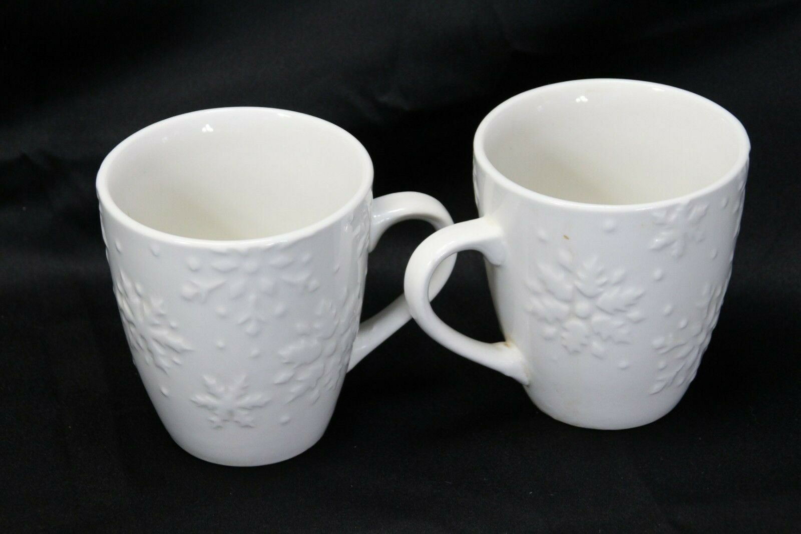 """Snowflakes by Thomson Mugs Large 4"""" Lot of 6 image 4"""