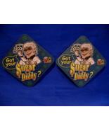 Sugar Daddy Pull Tabs Drink Beer Coaster Souvenir set of 2 - $2.99