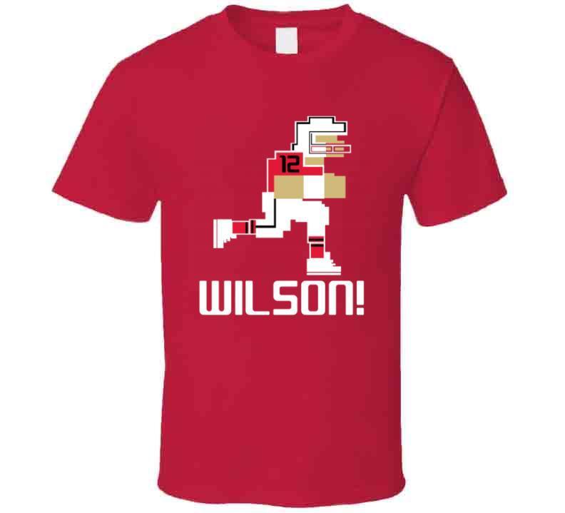 Albert Wilson # 12 Tecmo Bowl Kansas City Football Athlete Fan T Shirt