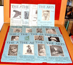 16 The Arts 1927-31 Art Architect Paintings Sculpture Artists Exibitions... - $15.00