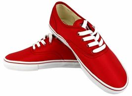 Levi's Women's Classic Premium Atheltic Sneakers Shoes Rylee 524342-01R Red image 3