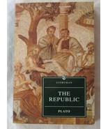 The Republic - Plato - Everyman edition - $6.25