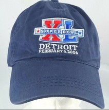 Super Bowl XL Detroit Adjustable Hat/Cap 2006 - $11.87