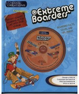 Cool Creations EXTREME BOARDERS Book and CD-ROM Combo - $6.99