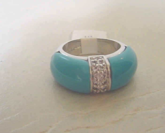 Blue ring front
