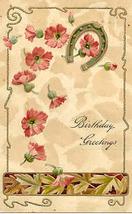 Birthday Wishes Paul Finkenrath of Berlin Vintage Post Card - $5.00