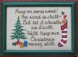 Keep Christmas Merry cross stitch chart Waxing Moon Designs - $7.20