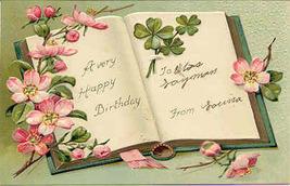 A Very Happy Birthday Paul Finkenrath of Berlin Post Card - $6.00