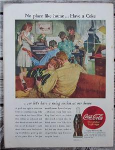 Liberty Magazine, Mar 9 1946 Ray Milland, Coca-Cola Ad