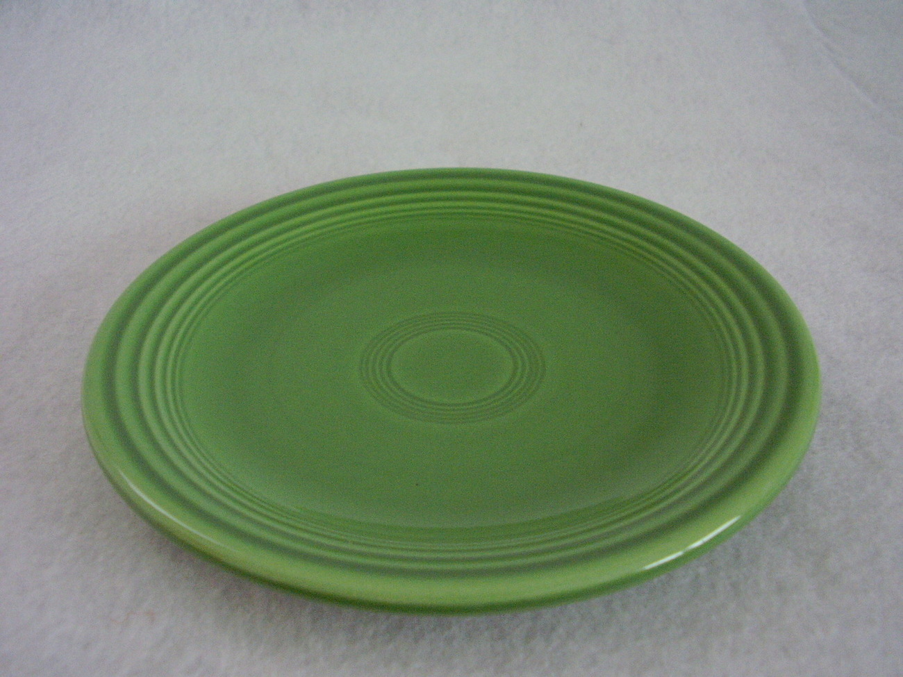 Vintage Fiestaware Medium Green Bread Butter Plate Fiesta  B