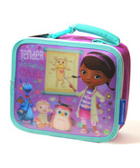 NEW Disney DOC McStuffing 3D Insulated Lunch Box Bag Pack Container Tote... - $19.99