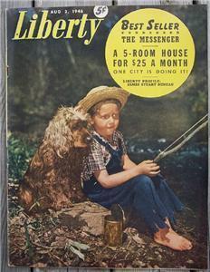 Liberty Magazine, Aug 3 1946 Baseball's Bob Feller