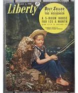 Liberty Magazine, Aug 3 1946 Baseball's Bob Feller - $9.00
