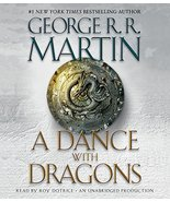A Dance with Dragons: A Song of Ice and Fire: Book Five [Audio CD] Marti... - $15.84