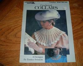 Leisure Arts Crocheted Collars Leaflet 446 - $5.00