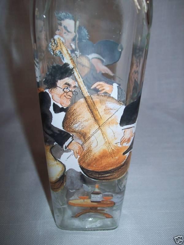 Glass Vinegar Oil Bottle Nappa Valley Quartet Sign
