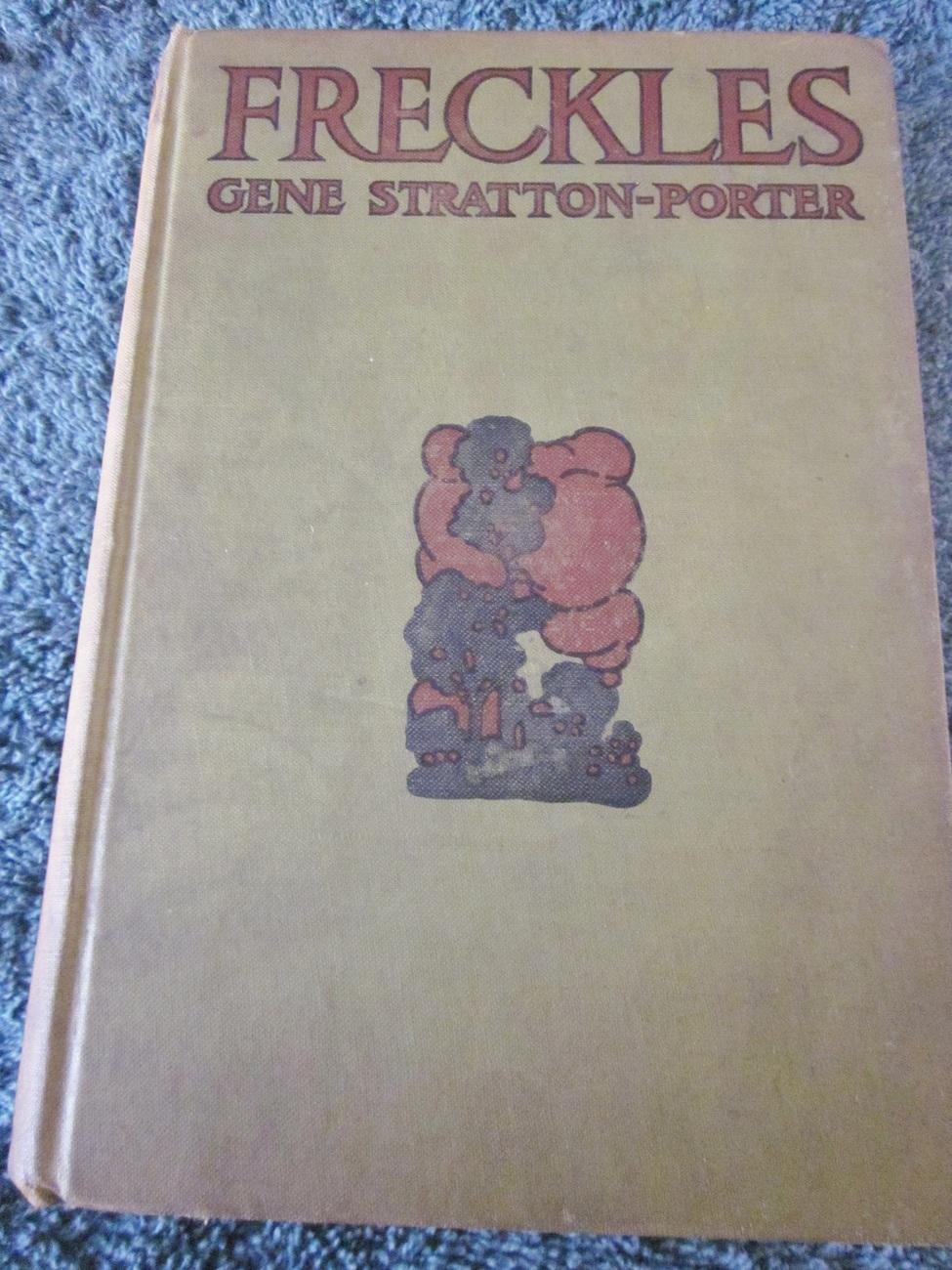 "Vintage Book ""Freckles"" by Gene Stratton Porter 1904"